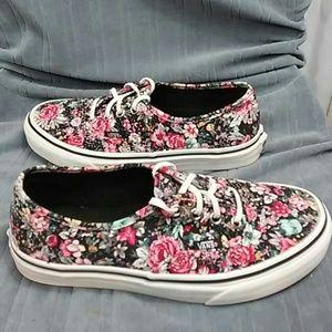 Vans Floral Skate shoe